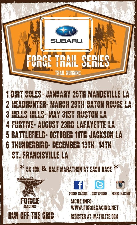 2014 Subaru FORGE Trail Series Poster Big