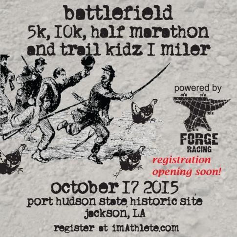 2015 Battlefield 5 Trail Kidz Trail Race Postcard front