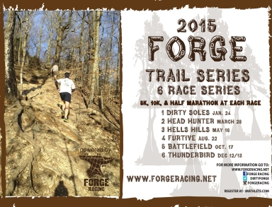 2015 FORGE Trail Series Poster