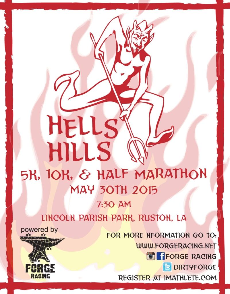 2015 Hells Hills Post Card Front
