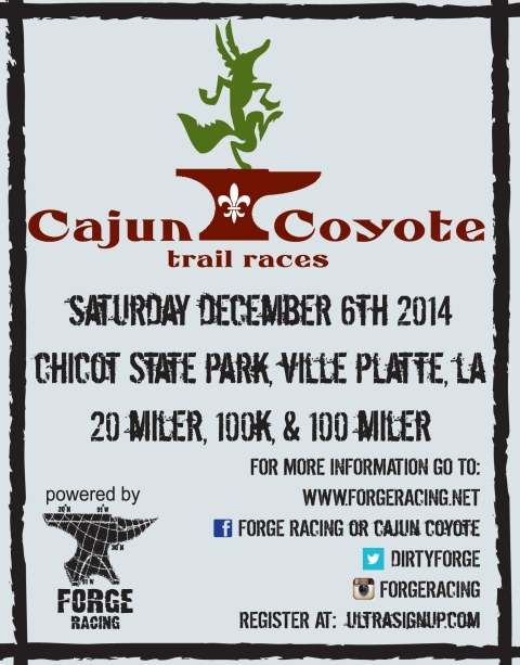 2014 Cajun Coyote Post Card Front
