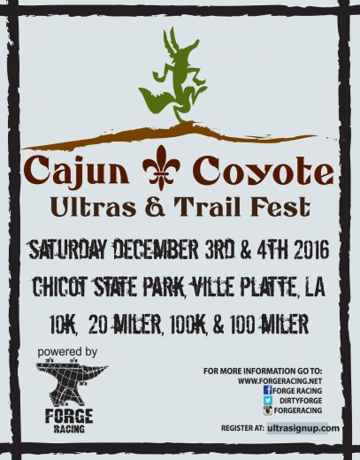 2016 Cajun Coyote Post Card Front-2