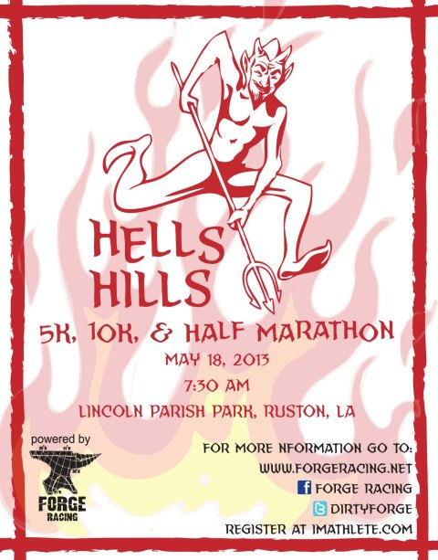 2013 Hells Hills May 18th Lincoln Parish Park