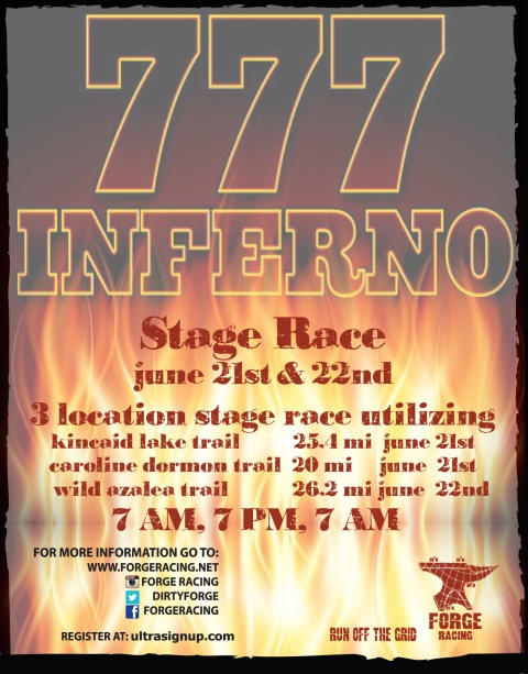 2014 777 Inferno Post Card Front